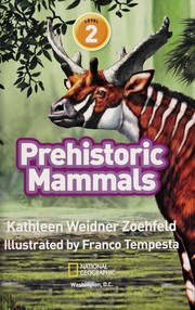 Cover of: Prehistoric mammals