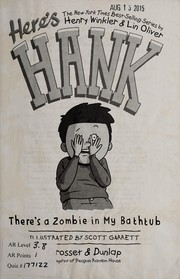 Cover of: There's a zombie in my bathtub