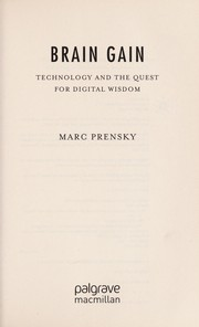Cover of: Brain gain | Marc Prensky