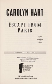 Cover of: Escape from Paris
