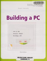 Cover of: Building a PC | Stuart Yarnold