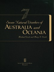 Cover of: Seven natural wonders of Australia and Oceania | Woods, Michael