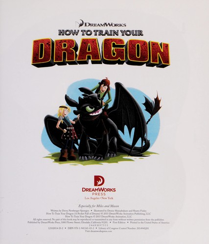 How to train your dragon by Devra Newberger Speregen