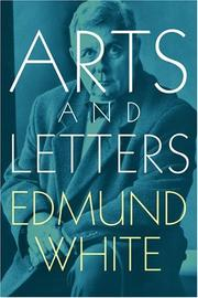 Cover of: Arts and letters