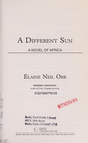 Cover of: A Different Sun