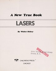 Cover of: Lasers | Walter G. Oleksy