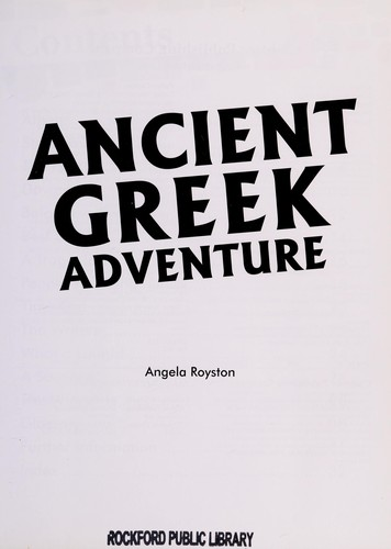 Ancient Greek Adventure by