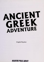 Cover of: Ancient Greek Adventure |