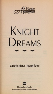 Cover of: Knight Dreams | Christina Hamlett