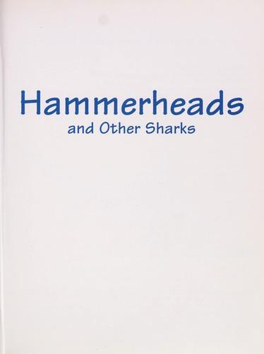 Hammerheads and other sharks by Steven Otfinoski