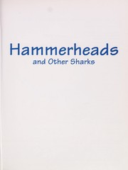 Cover of: Hammerheads and other sharks | Steven Otfinoski