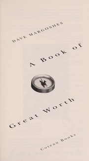 Cover of: A book of great worth