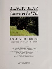 Cover of: Black bear | Anderson, Tom