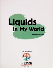 Cover of: Liquids in My World | Joanne Randolph