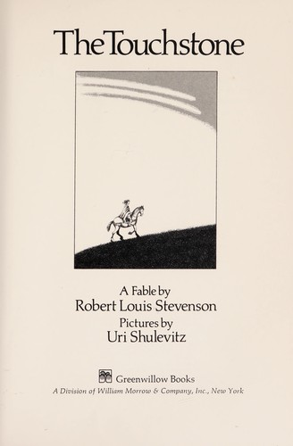The touchstone by Robert Louis Stevenson