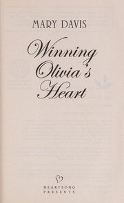Cover of: Winning Olivia's heart