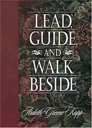 Cover of: Lead, guide, and walk beside