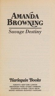 Cover of: Savage Destiny