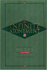 Cover of: The Infinite Atonement