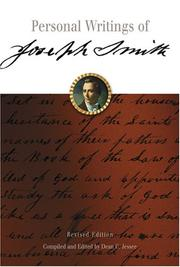 Cover of: Personal Writings of Joseph Smith | Joseph Smith, Jr., Dean C. Jessee