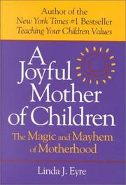 Cover of: Joyful Mother of Children | Linda Eyre