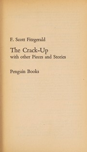 Cover of: The crack-up with other pieces and stories