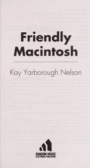Cover of: Friendly Macintosh | Kay Yarborough Nelson