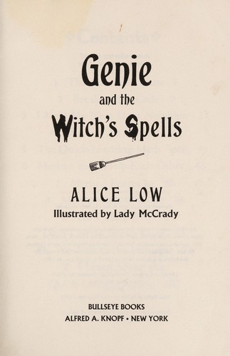 Genie & Witch's Spell by Alice Low