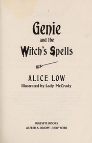Cover of: Genie & Witch's Spell | Alice Low