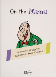 Cover of: On the Menu (Sails, Fluency (2)) |