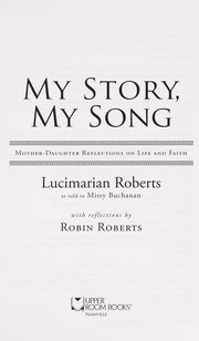Cover of: My story, my song | Lucimarian Roberts