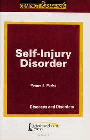 Cover of: Self-injury disorder