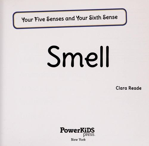 Smell by Clara Reade