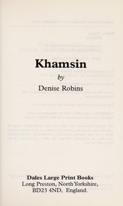 Cover of: Khamsin |