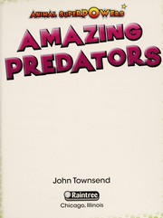 Cover of: Amazing predators