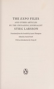 Cover of: The Expo files