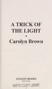 Cover of: A Trick of the light