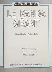 Cover of: Le panda geant