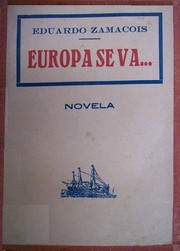 Cover of: Europa se va...: novela