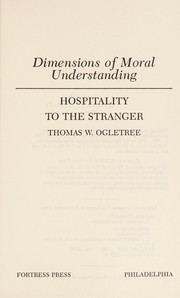Cover of: Hospitality to the stranger | Thomas W. Ogletree