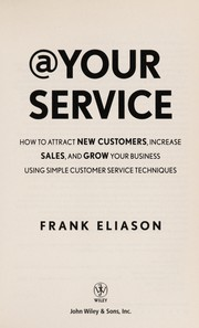Cover of: At your service