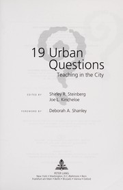 Cover of: 19 urban questions