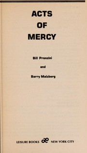 Cover of: Acts of Mercy