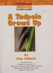 Cover of: A tadpole grows up