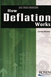 Cover of: How deflation works | Corona Brezina