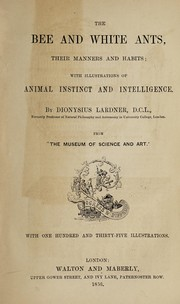 Cover of: The bee and white ants