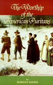 Cover of: The Worship of the American Puritans
