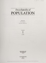 Cover of: Encyclopedia of population | edited by Paul Demeny, Geoffrey McNicoll