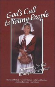 Cover of: God's call to young people