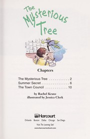Cover of: The mysterious tree